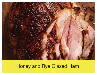 Honey and Rye Glazed Ham